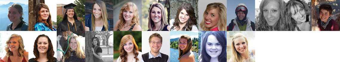 20142-13 WWU Student Scholarship Recipients