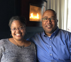 YOUNG PHILANTHROPISTS OF THE YEAR AWARD DOUGLAS W. LEEK ('98 & '99)  AND LATONYA G. LEEK ('00)